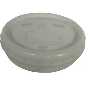 Soviet gray early post war butter can. Espenlaub militaria