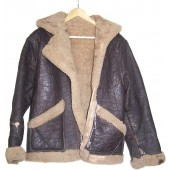 Lend-Lease sheepskin flyer jacket used by Red Army flyer