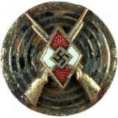 3 Reich HJ ground found badge