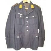 Luftwaffe tuchrock for Obergefreiter of Flieger KriegsSchule.