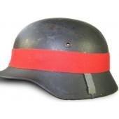 Maneuver band for German helmet