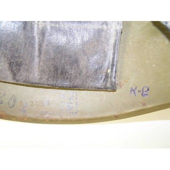 Early postwar helmet M40 helmet, second model. Espenlaub militaria