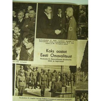 Estonian PILDILEHT propaganda magazine. Espenlaub militaria