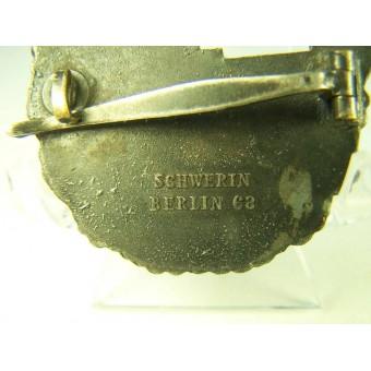 Kriegsmarine Zerstoerer-Kriegsabzeichen. Destroyer war badge. Kriegsmetall. Espenlaub militaria