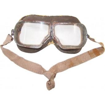Original WW2 made Soviet Russian pilots goggle. Espenlaub militaria