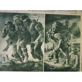WW2 period Estonian Waffen SS propaganda magazine. Espenlaub militaria