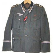 3rd Reich Heeres Signals -Der Spiess in rank of Oberfedwebel M36 tunic.