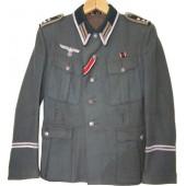 3rd Reich Heeres Signals -Der Spiess in rank of Oberfedwebel M36 tunic.