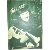 German WW2/Waffen SS propaganda magazine Pildileht printed in Estonian, 5/1943