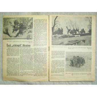 German WW2/Waffen SS estonian magazine Pildileht nr2, 1944. Espenlaub militaria