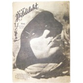German WW2/Waffen SS estonian magazine Pildileht nr2, 1944