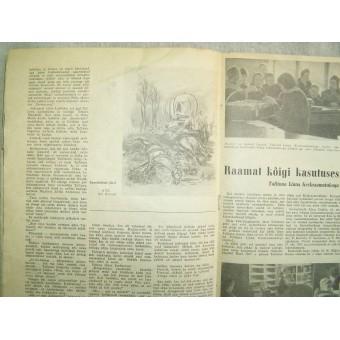 German WW2/Waffen SS propaganda magazine, printed in Estland, 1944.. Espenlaub militaria