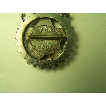 Pre-war made badge Ready for Labor and Defense, enamel. Espenlaub militaria