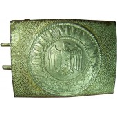 3rd Reich Heeres parade 2 piece, steel with alu center buckle