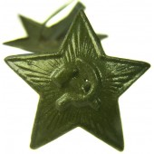 WW2 Soviet Russian M41 green star cockade