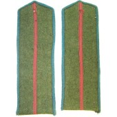 Red Army M 43 junior officers unissued pair of boards.