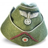 3rd Reich Wehrmacht officer's side hat for Nebeltruppe
