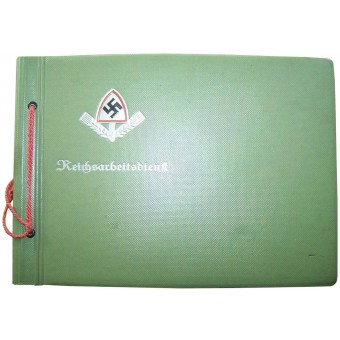 German RAD soldiers photo album. Espenlaub militaria