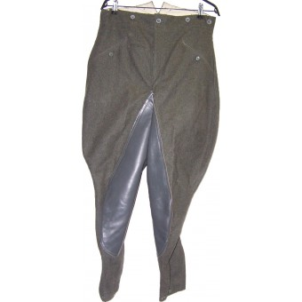 M 41 trousers with leather reinforcement. Espenlaub militaria