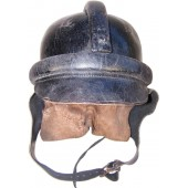 NSKK dispatch riders leather protective helmet.