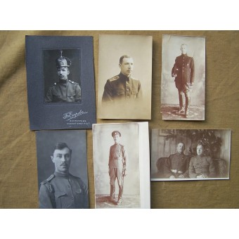 Set of 126 pictures of one officer, pre-ww1, ww1, Civilian war and pre-ww2 periods!!. Espenlaub militaria