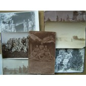 Set of 126 pictures of one officer, pre-ww1, ww1, Civilian war and pre-ww2 periods!!