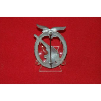 Badge - Flakkampfabzeichen der Luftwaffe. Kriegsmetall. No markings. Espenlaub militaria