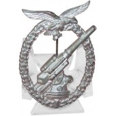 Badge - Flakkampfabzeichen der Luftwaffe. Kriegsmetall. No markings