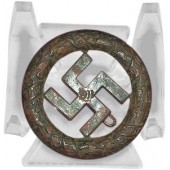 German 1933 Party District Gau München Bronze Badge