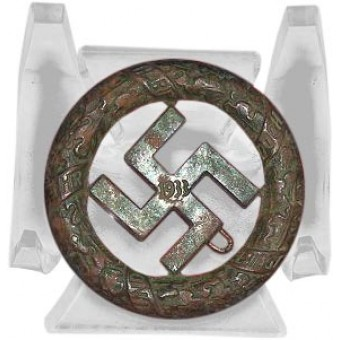 German 1933 Party District Gau München Bronze Badge. Espenlaub militaria