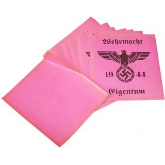 German WW2 issue sticker. Wehrmacht Eigentum. Espenlaub militaria