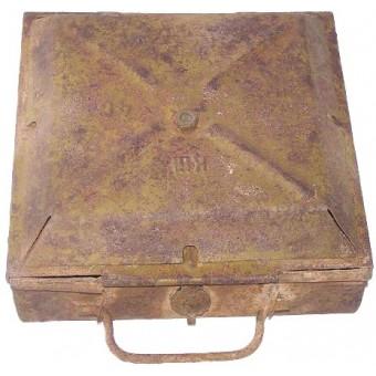 Soviet anti-tank TM 35 mine. Deactivated!. Espenlaub militaria