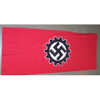 3rd Reich DAF banner, cotton, single sided. Size 250x 80 cm.. Espenlaub militaria