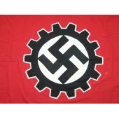 3rd Reich DAF banner, cotton, single sided. Size 250x 80 cm.
