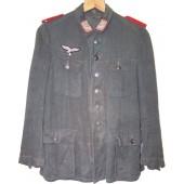 Luftwaffe feldivisionen drillich tunic.