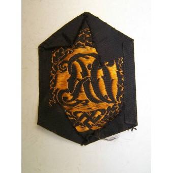 3rd Reich DRL sport badge, machine embroidered BeVo version. Espenlaub militaria