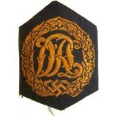 3rd Reich DRL sport badge, machine embroidered BeVo version