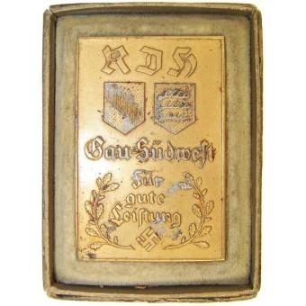 Achievement medal with original box.. Espenlaub militaria
