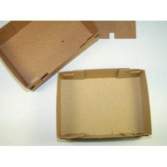 Feldpost small postage cardboard box. Espenlaub militaria
