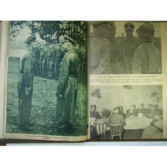 Set of 5 unique Waffen SS propaganda magazines. Espenlaub militaria