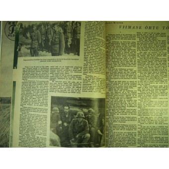 Set of 5 unique Waffen SS propaganda magazines. Espenlaub militaria