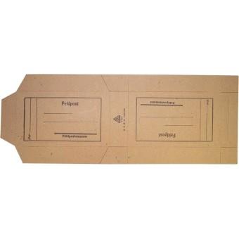 WW2 German Feldpost small postage cardboard box. Espenlaub militaria
