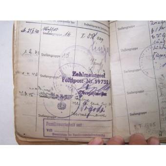 3rd Reich Wehrmacht Heer Soldbuch-Sanitater in STUG brig 301. Espenlaub militaria