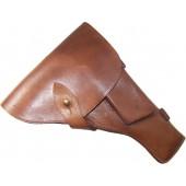 DDR made early postwar leather holster for TT pistol