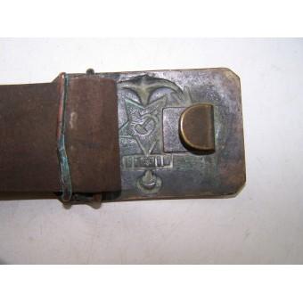 Soviet NAVY belt and buckle, pre-war issued. Espenlaub militaria