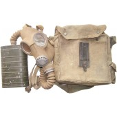 Estonian made in 1941 year gasmask with it's original bag. Very rare!!