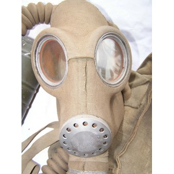 Estonian made in 1941 year gasmask with its original bag. Very rare!!. Espenlaub militaria