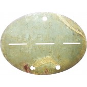 Female FLAK helferinnen dog tag, unissued