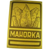 Tobacco Mahorka, WW2 made