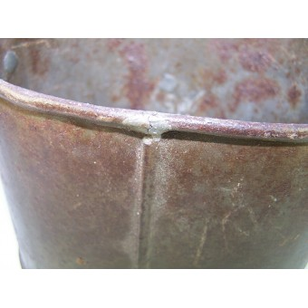 WW1 Russian steel made field mess pot. Espenlaub militaria